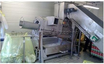 Appareil de vidage des rebuts de production emballaeges- revolution™ 150 process