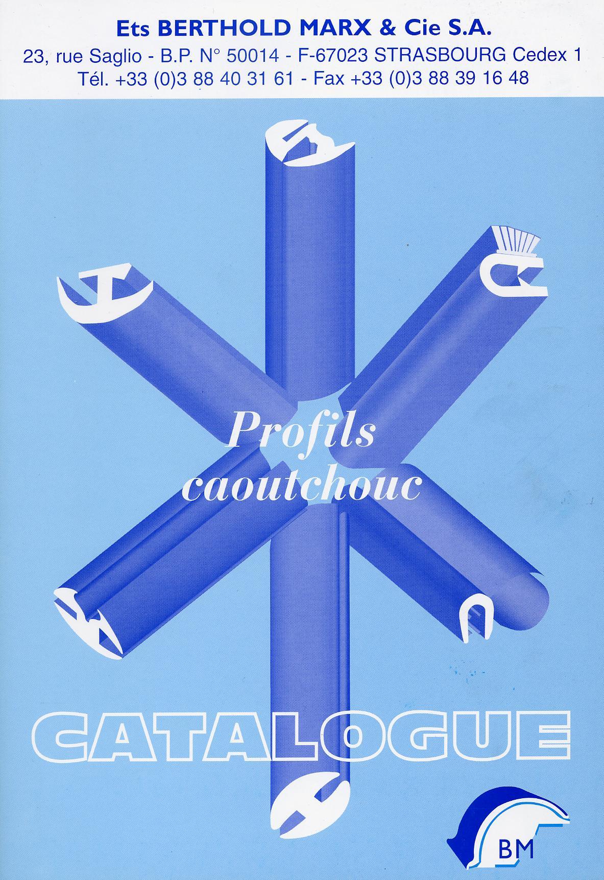 GAMME DE PROFIL CAOUTCHOUC