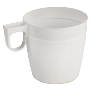 tasse caf plastique blanc avec anse comparer les prix de tasse caf plastique blanc avec. Black Bedroom Furniture Sets. Home Design Ideas