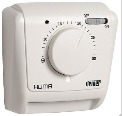 thermostat mecanique mural klima si ve021200. Black Bedroom Furniture Sets. Home Design Ideas