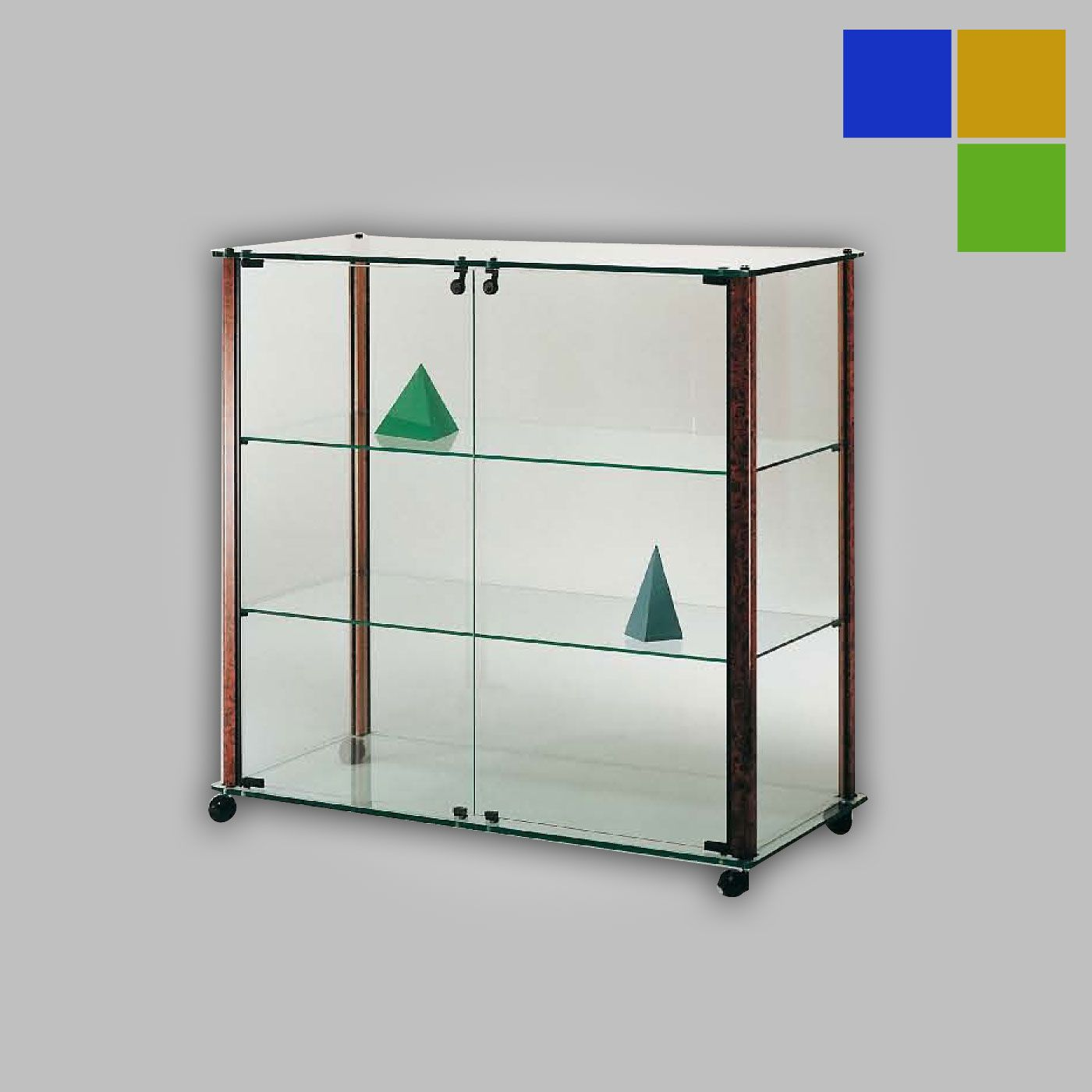 vitrine comptoir modele barite. Black Bedroom Furniture Sets. Home Design Ideas