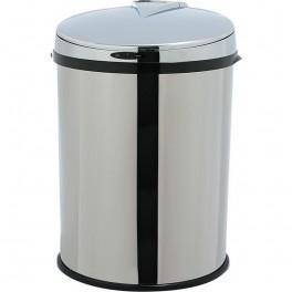 poubelle infrarouge inox brillant 40 litres. Black Bedroom Furniture Sets. Home Design Ideas