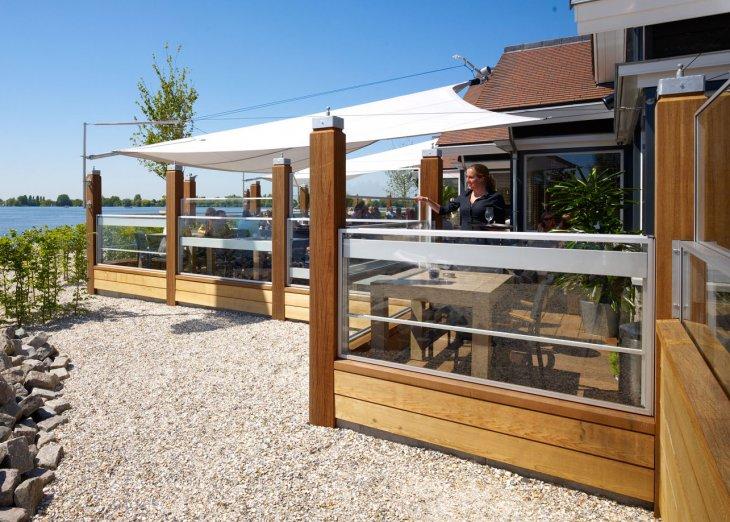 Stores bourgogne produits paravents pour la restauration for Paravent exterieur pour terrasse