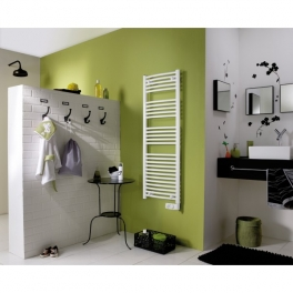 radiateur seche serviettes corsaire 472311 vertical 500 w. Black Bedroom Furniture Sets. Home Design Ideas