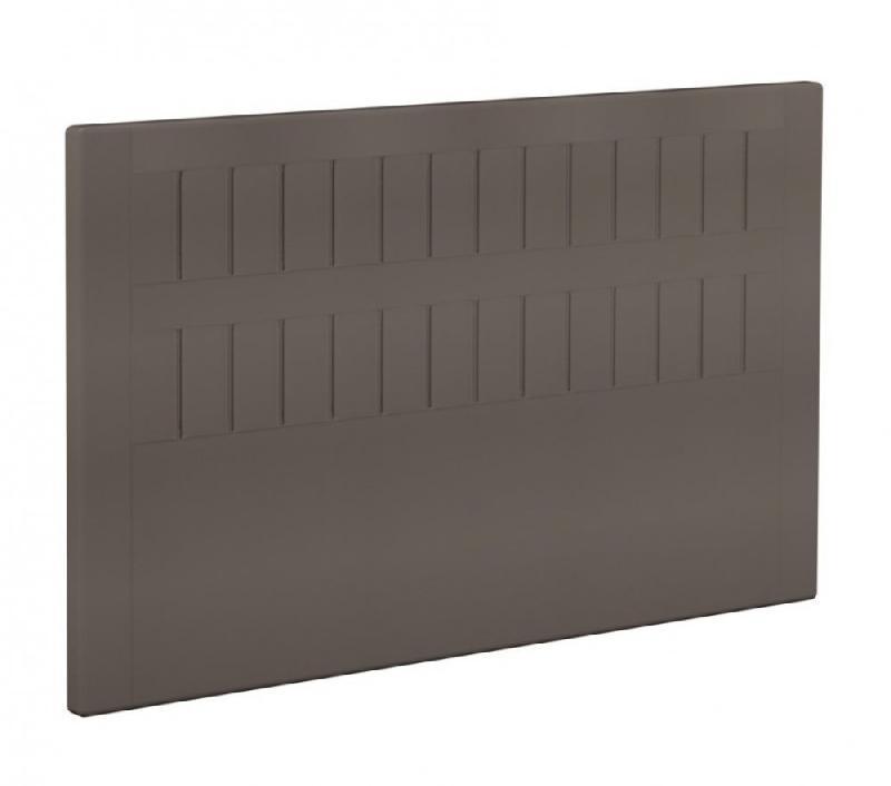 bultex t te de lit stromboli en tissu enduit polyur thane simili fa on cuir taupe 200cm comparer. Black Bedroom Furniture Sets. Home Design Ideas