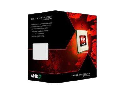 AMD BLACK EDITION - AMD FX 6350 - 3.9 GHZ - 6 CœURS - 6 FILS - 8 MO CACHE - SOCKET AM3+ - BOX