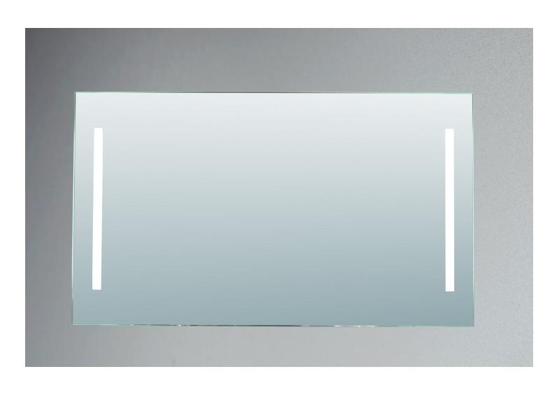 miroir de salle de bains avec clairage fluorescent mod le 120 70 cm x 120 cm hxl pradel. Black Bedroom Furniture Sets. Home Design Ideas