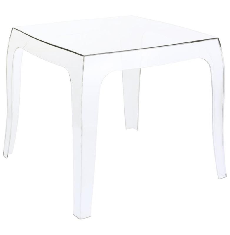 Table d 39 appoint 39 retro 39 design transparente comparer les - Protection de table transparente ...