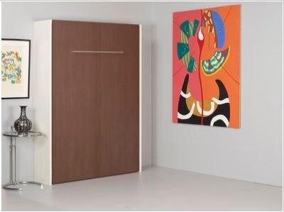 armoire lit escamotable odyssee de griffon composable couchage 140 200 cm. Black Bedroom Furniture Sets. Home Design Ideas