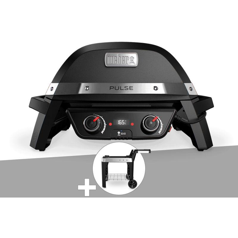 Barbecue Weber Master Touch Gbs 57 Cm Noir Housse Kit Cheminee
