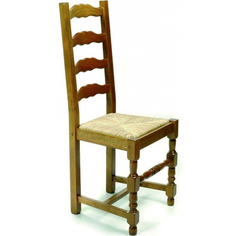 Le chaisier produits chaise pour salle a manger - Chaise rustique bois et paille ...