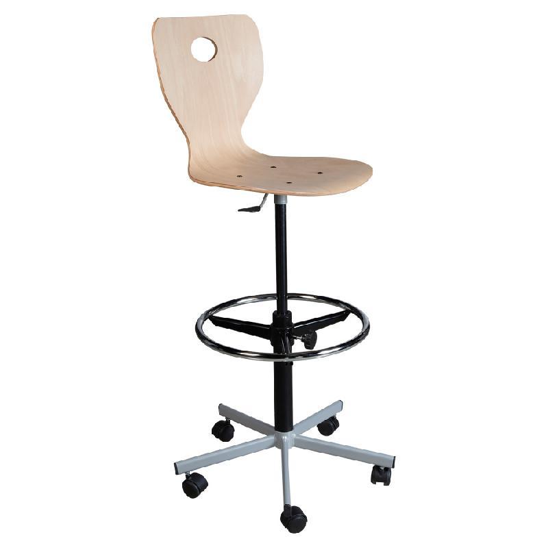 chaise de dessinateur awesome siege dessinateur grand confort avec repose pieds reglable with. Black Bedroom Furniture Sets. Home Design Ideas