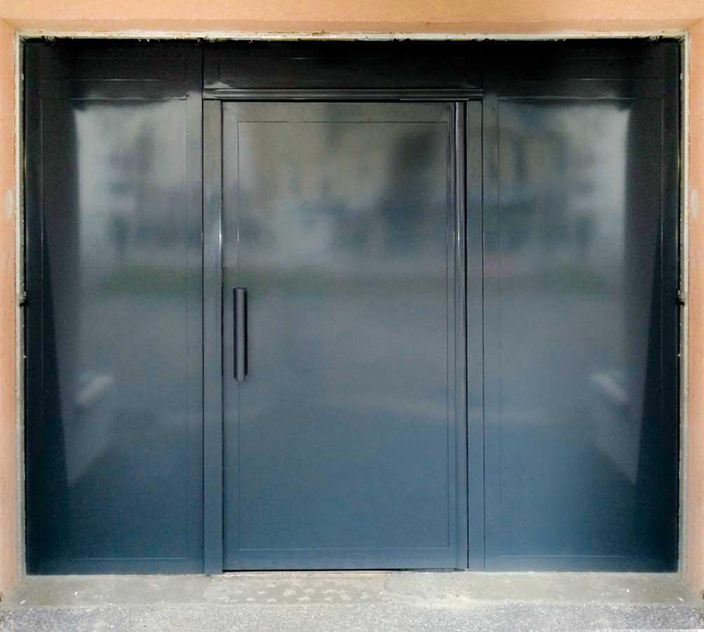 Portes battantes tous les fournisseurs porte simple - Porte metallique double battant ...