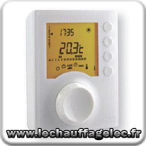 thermostat prog filaire j h pour chauffage en mode confort reduit 230 comparer les prix de. Black Bedroom Furniture Sets. Home Design Ideas