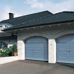 Porte de garage sectionnelle en acier a cassettes m lpu 40 for Porte de garage hormann lpu 40 prix