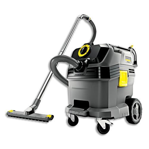 Karcher aspirateur eau et poussière pro nt 30/1 tact l 1380w, dépression 25kpa, capacité 30 litres 69db