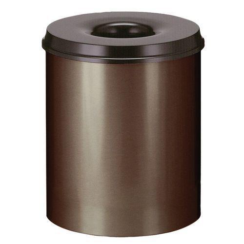 poubelle marron achat vente poubelle marron au meilleur prix hellopro. Black Bedroom Furniture Sets. Home Design Ideas