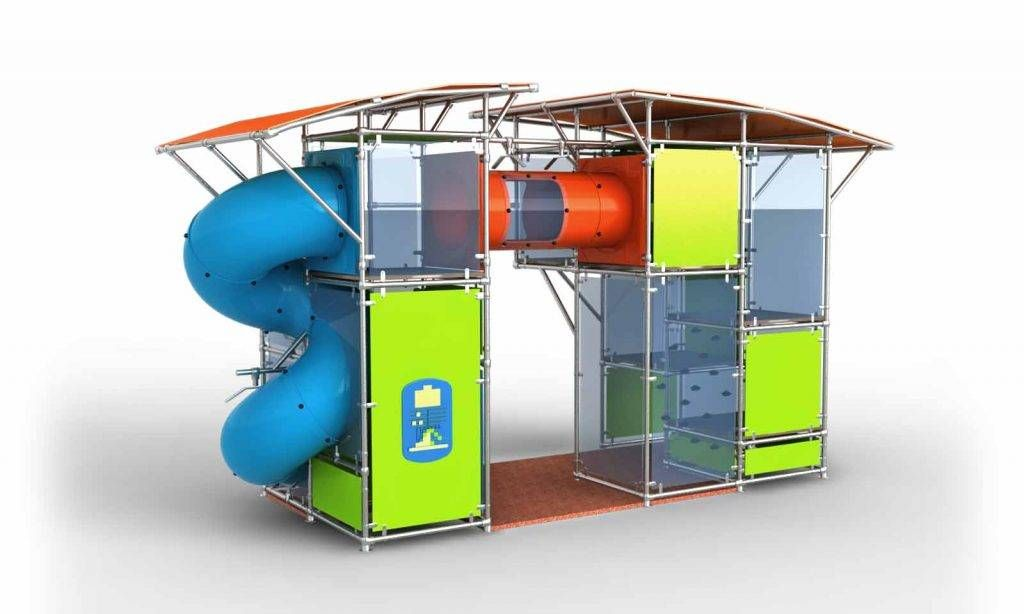 structure toboggan. Black Bedroom Furniture Sets. Home Design Ideas