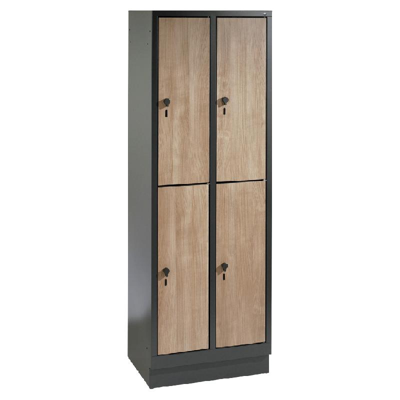 armoire casiers manutan collectivit s achat vente de. Black Bedroom Furniture Sets. Home Design Ideas