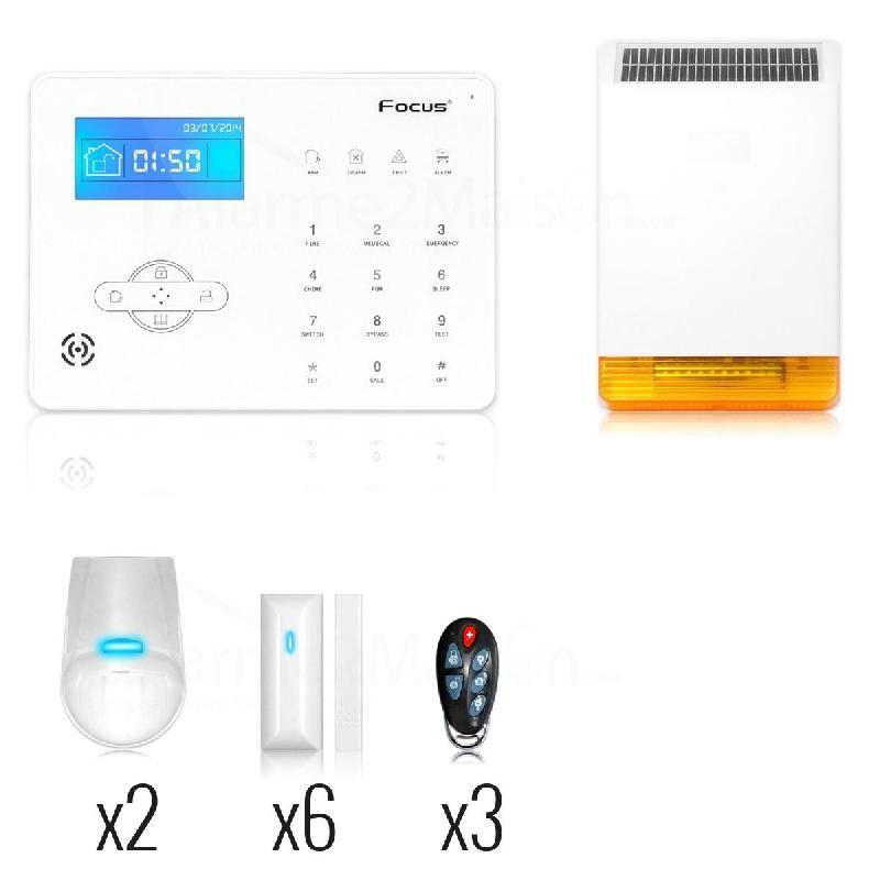 alarme en kit focus achat vente de alarme en kit focus comparez les prix sur. Black Bedroom Furniture Sets. Home Design Ideas