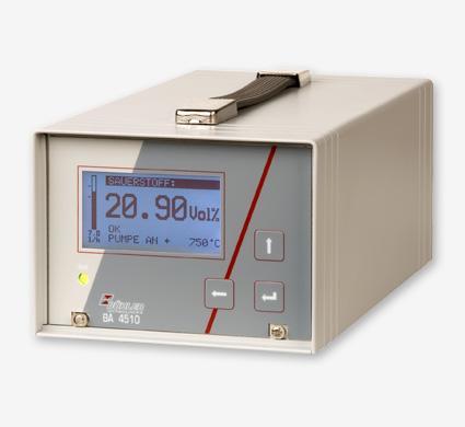 Analyseur d'o2 portable ba 4510