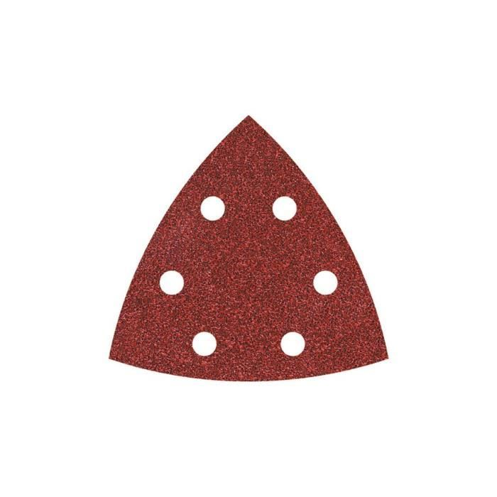 Triangle abrasif herme auto-agrippant