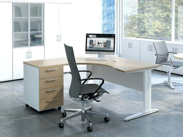 bureau compact avec caisson pas cher comparer les prix de bureau compact avec caisson pas cher. Black Bedroom Furniture Sets. Home Design Ideas