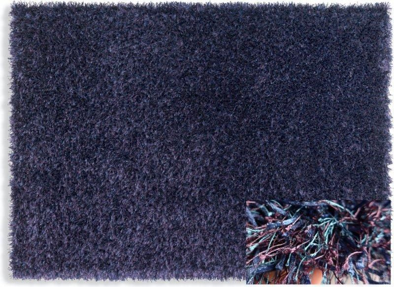 feeling tapis epais bleu mauve 140x200 cm. Black Bedroom Furniture Sets. Home Design Ideas