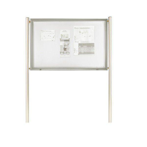 vitrine d 39 ext rieur clairage led sur pied verre s curit comparer les prix de vitrine d. Black Bedroom Furniture Sets. Home Design Ideas