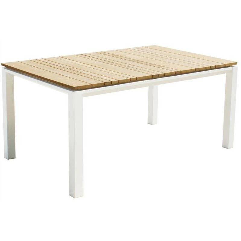 TABLE DE JARDIN PIRCHER URBAN 200X90 CM EN ACIER ET BOIS DE ...