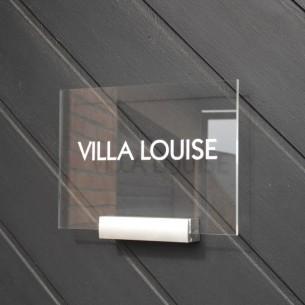 plaques professionnelles plexiglas design comparer les prix de plaques professionnelles. Black Bedroom Furniture Sets. Home Design Ideas