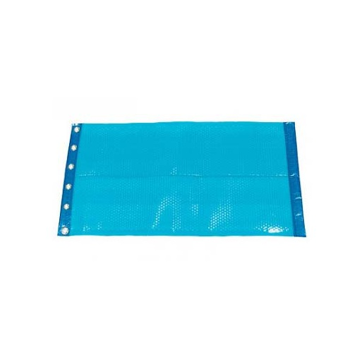 Bache piscine bache a bulles 400 microns bordee 2 cotes - Bache a bulle piscine rectangulaire ...