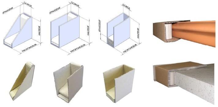 angle de protection tous les fournisseurs calage d 39 angle parafeuillard calage carton. Black Bedroom Furniture Sets. Home Design Ideas