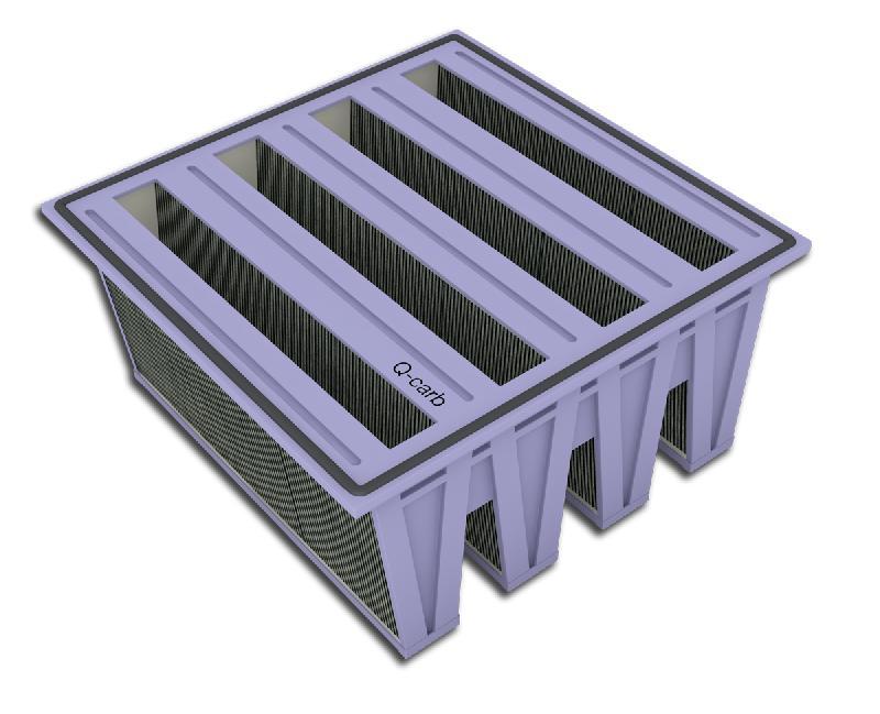 filtre charbon actif titapak ql carb. Black Bedroom Furniture Sets. Home Design Ideas