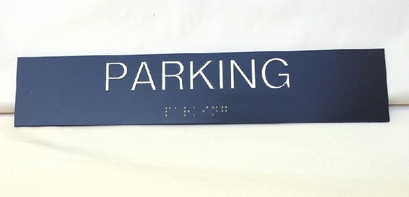 parking plaque de porte en braille et relief comparer les prix de parking plaque de porte. Black Bedroom Furniture Sets. Home Design Ideas