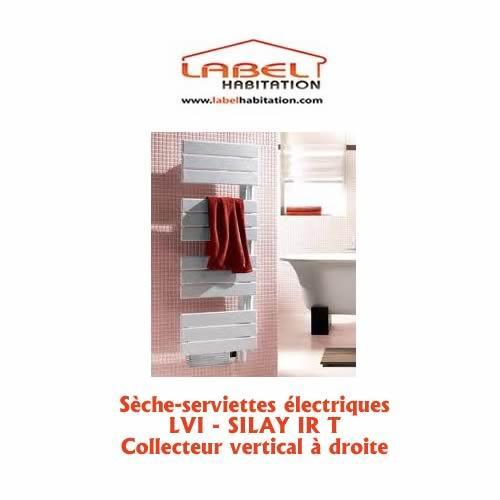 s che serviette lectrique silay ir t collecteur vertical gauche lvi comparer les prix de. Black Bedroom Furniture Sets. Home Design Ideas