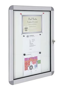 vitrine d affichage exterieur design