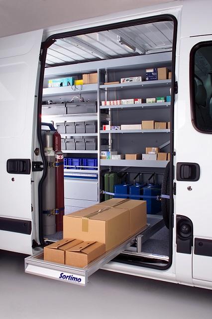 sortimo produits meubles de rangement pour vehicules utilitaires. Black Bedroom Furniture Sets. Home Design Ideas