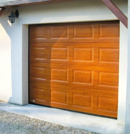 Portes de garage sectionnelles plafond 40mm evidence - Portes garage sectionnelles ...