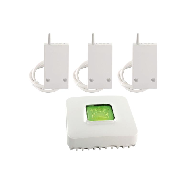 pack connecte rf 6600 fil pilote pour chauffage electrique 6050629 comparer les prix de pack. Black Bedroom Furniture Sets. Home Design Ideas