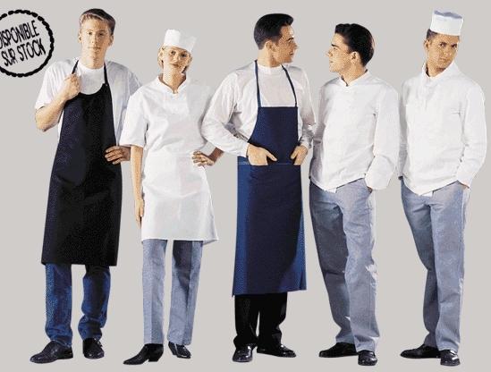 Vetements pour les cuisiniers for Tenue professionnelle cuisine