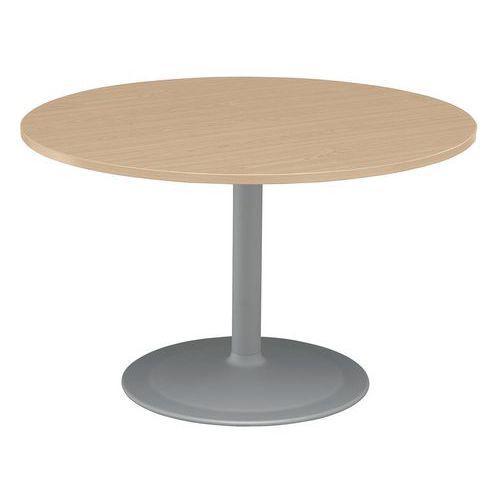 TABLE RONDE DIAMETRE 120CM PIED TULIPE EN HÊTRE
