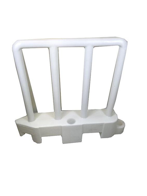 Barriere  de securite amovible blanc