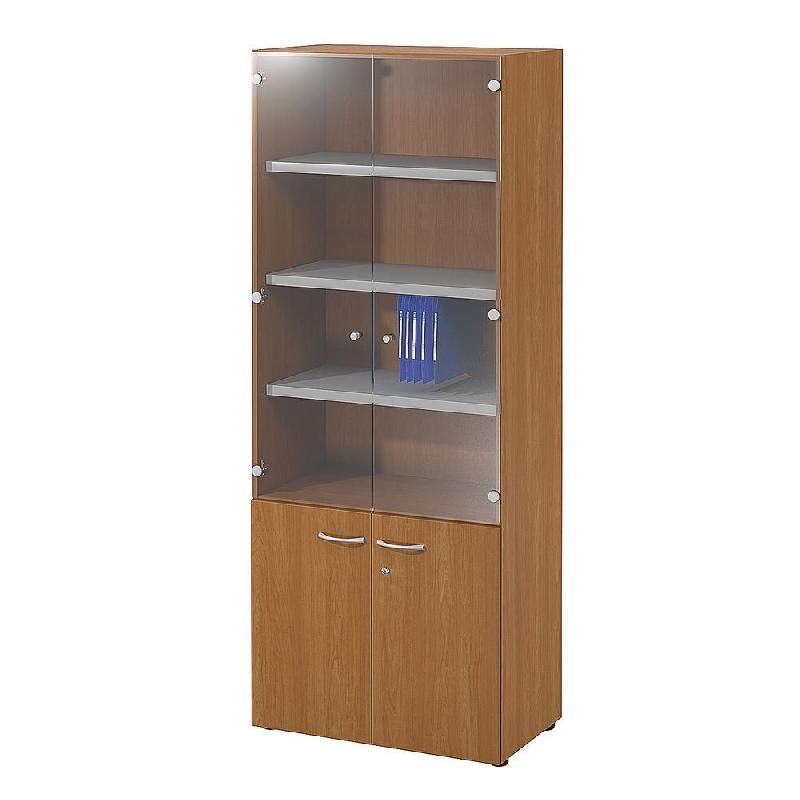 Armoires de bureau porte battante buronomic achat for Meuble haut bureau
