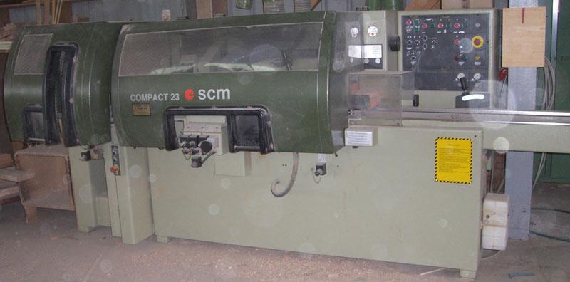 Corroyeuse / moulurière - scm  compact 23 - réf 409