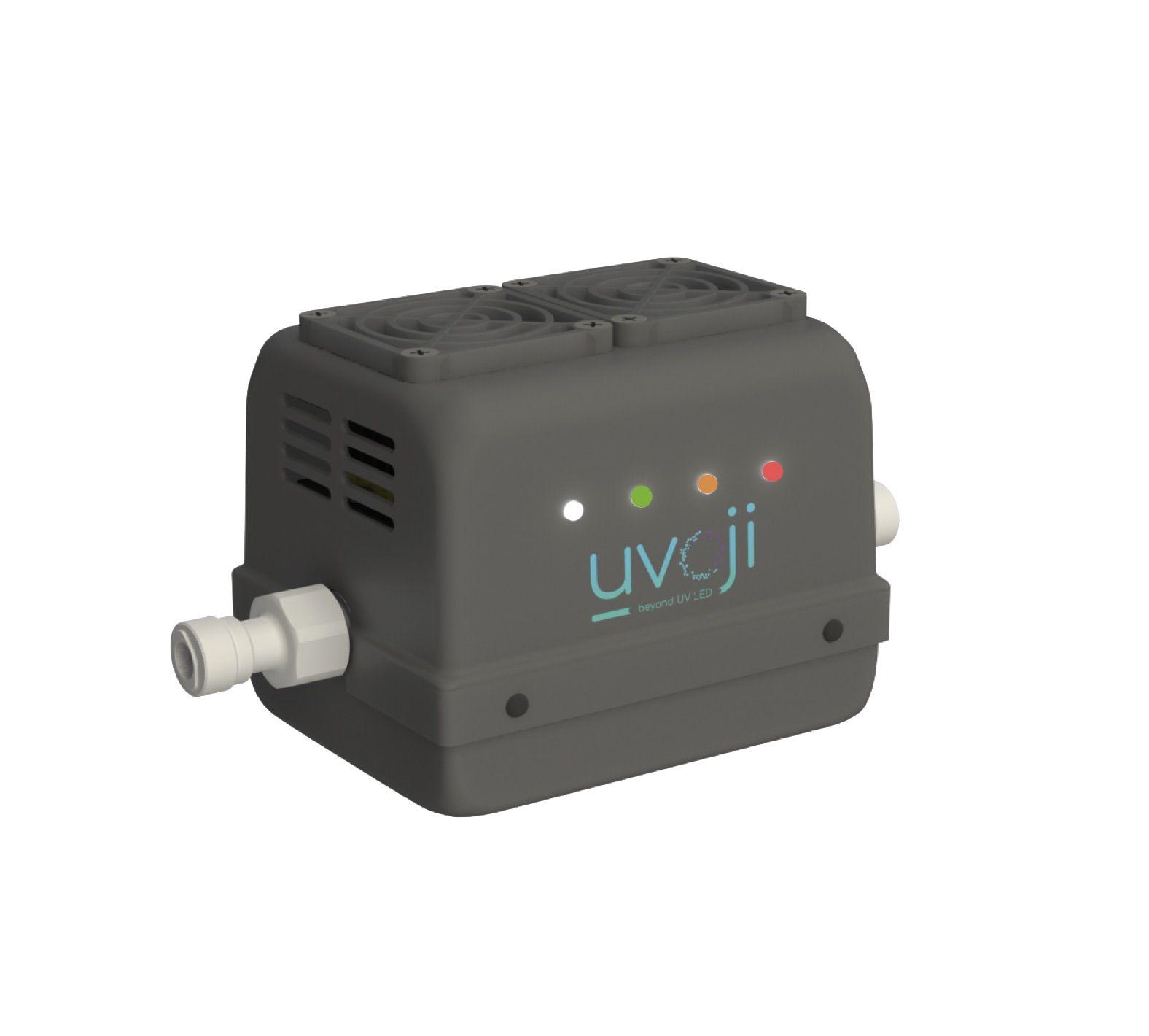 Réacteur led uv oji safe débit 4 ou 8 l/min