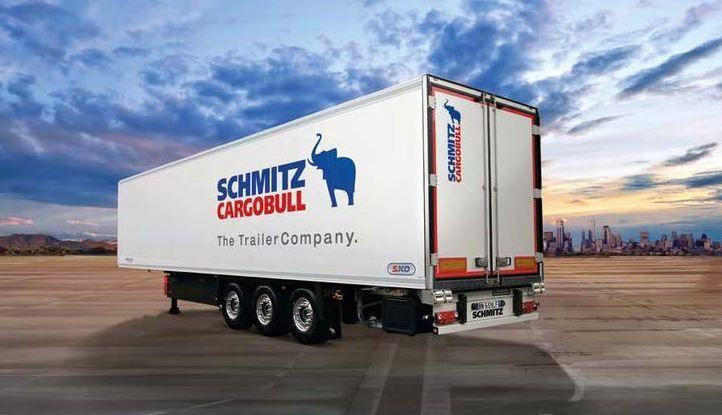 S.ko cool - remorque frigorifique - schmitz cargobull - longueur totale env.13 600 mm