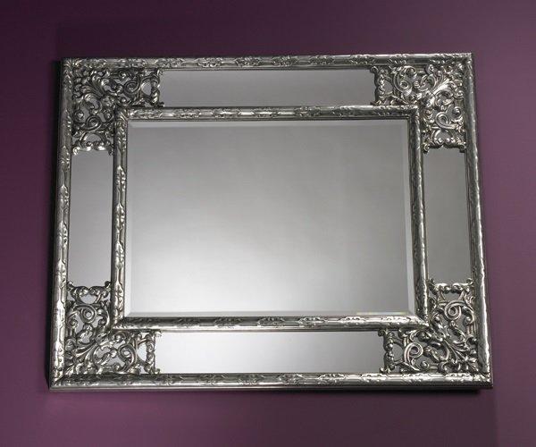 Angel miroir mural design argent comparer les prix de - Miroirs muraux design ...