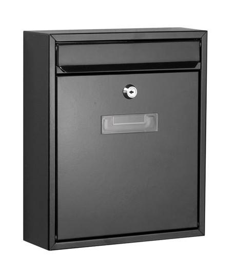 bo te aux lettres ibiza noir perel comparer les prix de bo te aux lettres ibiza noir. Black Bedroom Furniture Sets. Home Design Ideas