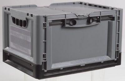 Bac pliable pour stockage et transport labo services réf 3424